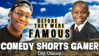 COMEDY SHORTS GAMER - Before They Were Famous - Deji Olatunji