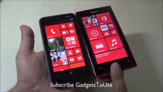 Nokia Lumia 520 Vs 620 Detailed Comparison Review  Hardware, Specs, Camera, Build Quality, Display E