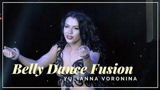 Amazing Belly Dance Fusion - Arabic Cover Version Robbie Williams - Feel  (Yulianna Voronina Dancer)