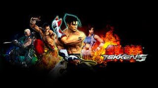 Tekken 5 Game full movie (Mishima saga)