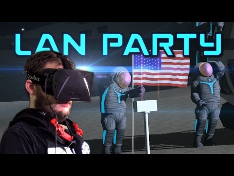 Virtual Reality in Space - Control VR & Oculus