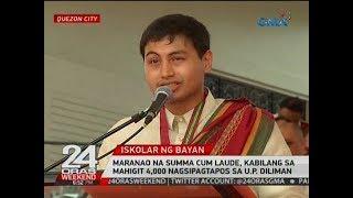 Maranao na summa cum laude, kabilang sa mahigit 4,000 nagsipagtapos sa U.P. Diliman