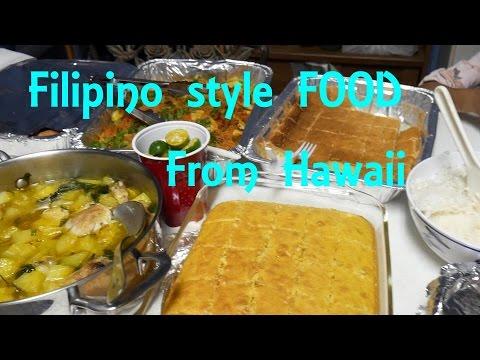 FOOD PORN | DELICIOUS Filipino food from Kauai, Hawaii | Dessert | Brother's birthday| Kapaa |#kauai