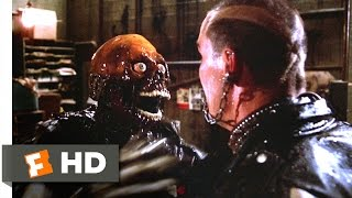 The Return of the Living Dead (8/10) Movie CLIP - Punks vs. Zombie (1985) HD