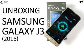 Samsung Galaxy J3 2016 Unboxing and Features (S Bike Mode) Overview