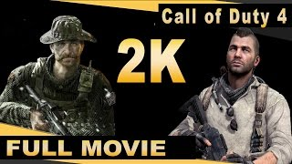 Call of Duty : Modern Warfare Remastered (PC) - Full Movie - Walkthrough - Collectibles  [1440p]