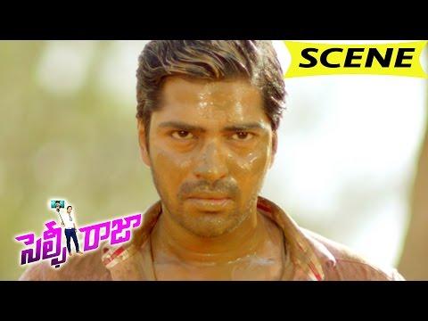 Allari Naresh Action Spoof As Allu Arjun And Ravi Teja - Comedy Scene - Selfie Raja Movie Scenes
