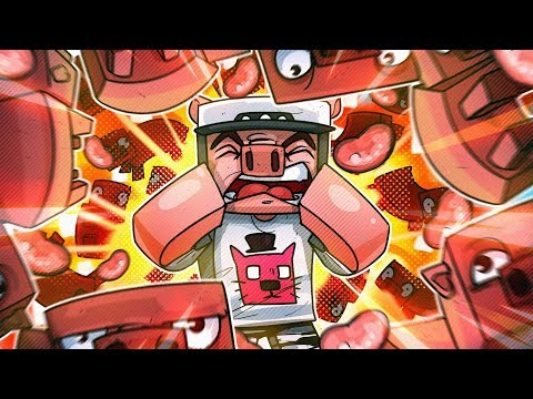 Filling Wildcat s House With Pigs & Blowing It Up Minecraft