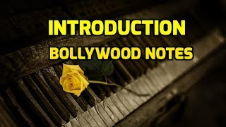 Introductory Video of Bollywood Notes