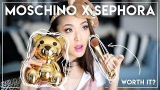 MOSCHINO x SEPHORA REVIEW || Worth buying?!