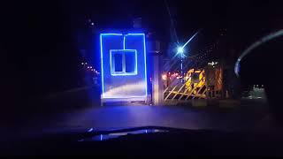 جولة ليلية طريفة الجامعةالقادسية - جدارية -  محطة الوقود الحكومية
