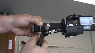 Part 79: How to install grip (handlebar grip) safety wire. YZ250F example.