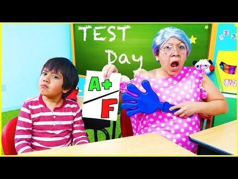 Xxx Mp4 Ryan Pretend Play School Test Day Learn Healthy Choices 3gp Sex