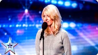 Emma Winter is Thinking Out Loud | Week 3 Auditions | Britain's Got Talent 2016