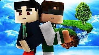 MANGO MEETS SABRE! - Team SkyWars (Minecraft Mini-Games) #1