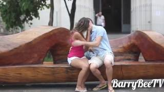 KISSING WET BRAZILIAN GIRLS?!?! Social Experiment