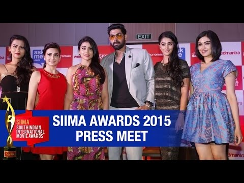 Xxx Mp4 SIIMA Awards 2015 Press Meet Rana Shriya Kriti Kharbanda Adah Sharma Pooja Hegde 3gp Sex