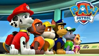 Paw Patrol  Pups Save The Day - Nick Junior Game Video For Kids