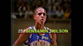 FULL Benji Wilson Basketball Game: 1984 IHSA State Championship Q/F - Chicago Simeon vs. Rock Island