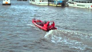 London Scene : River Thames : Thames Rockets : 8 July 2015