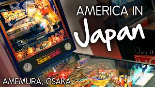 BACK TO THE FUTURE PINBALL! Amerika Mura, #Osaka (Amemura)