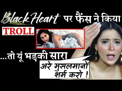 Xxx Mp4 Sara Khan Lashes Out At TROLLS Who Slammed Her For New Music Video BLACK HEART 3gp Sex