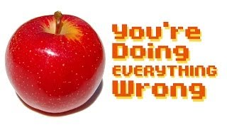 Things you're doing wrong every day: everything. | Maddox