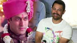Aamir Khan's FUNNY Comment On Salman Khan's MARRIAGE