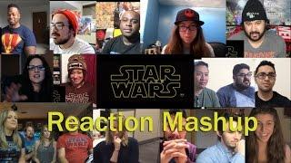Star Wars: Episode VII - The Force Awakens International Trailer REACTION MASHUP!!!