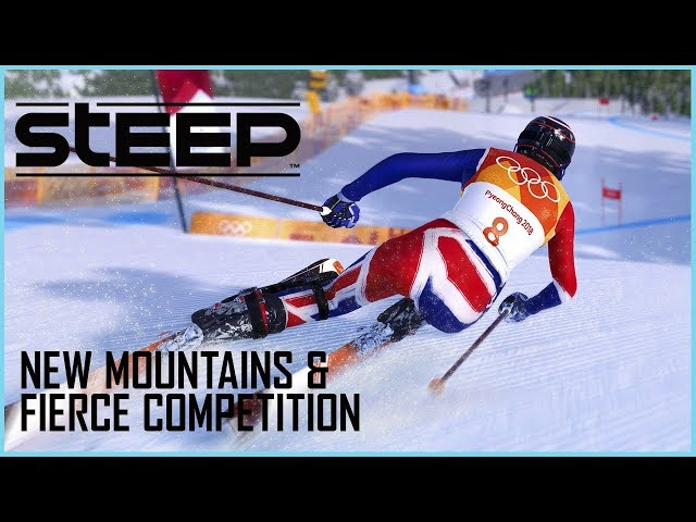 Steep Road to the Olympics: New Mountains and Fierce Competition Gameplay | Ubiblog | Ubisoft [US]