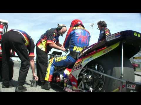 Larry Spiderman Mcbride Top Fuel Dragbike