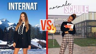 Alltag im Internat vs. normaler Alltag Vlog //Hannah