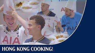 Hong Kong cooking competition! Eric & Dele v Toby & Hugo