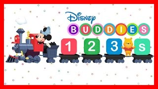 Disney Buddies 123s: 123 Song & Game w/ Mickey Mouse - Learn Number 1 to 20 Educational App for Kids
