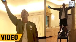 Cristiano Ronaldo Sings Portuguese Rock Classic In Front Of His Team Mates