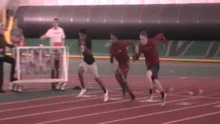 2011 Hurdle practice November Garrett Gerling J Hopkins Josiah Sims