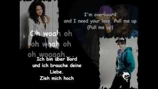 justin bieber ft jessica jarrell overboard lyrics deutsche bersetzung