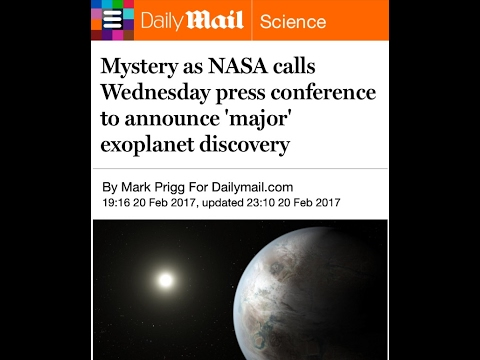ALERT! NASA Huge Press Conference Tomorrow! NIBIRU - Planet X Search