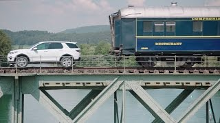 Land Rover Discovery Sport Pull 100-Tonne Train