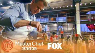 Gordon Ramsay Prepares A Dish In Twenty Minutes | Season 6 Ep. 9 | MASTERCHEF JUNIOR