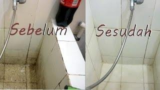 Cara mudah membersihkan kamar mandi dengan coca cola