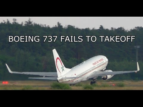 watch PASSENGER AIRCRAFT FAILS TO TAKEOFF! BOEING 737 NEAR TAIL STRIKE & STALL ON TAKEOFF