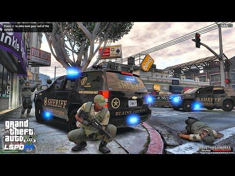 GTA 5 LSPDFR 0.3.1 - EPiSODE 131 - LET'S BE COPS - SHERIFF SWAT PATROL (GTA 5 PC POLICE MODS)