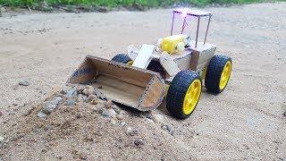 Cómo hacer una Bulldozer con cartón - RC Bulldozer
