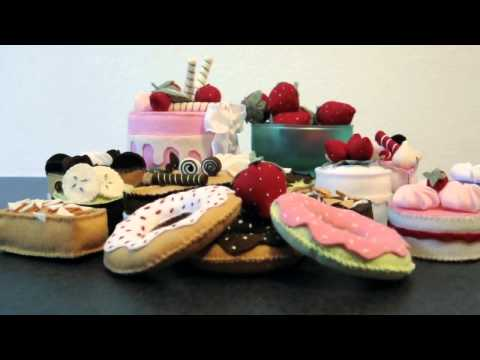 dolcetti in pannolenci