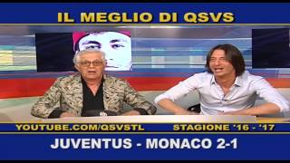 QSVS - I GOL DI JUVENTUS - MONACO 2-1 TELELOMBARDIA / TOP CALCIO 24