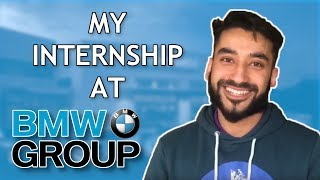 How I Got My Internship at BMW! Application Tips and Advice!