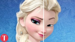 10 Amazing Pictures Of Disney Princesses Without Makeup