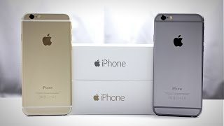 iPhone 6 Unboxing (Gold + Space Gray)