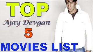 Ajay Devgan Top 5 Full Movies List Of Super Hit, Blckbuster, Hit By BOX OFFICE ANYLISE